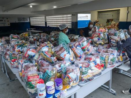 Jaboatão realiza nova entrega de kits de alimentos aos 65 MIL alunos da rede municipal