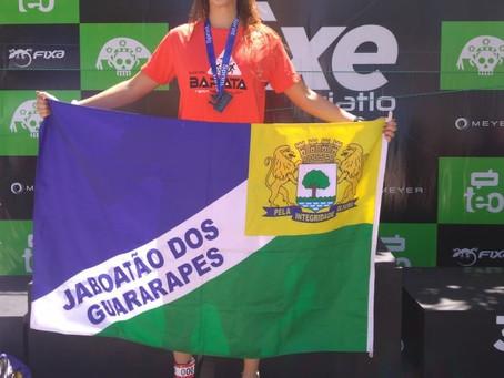 Um ano de grande conquistas da triatleta Carolline Gomes
