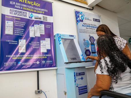 Jaboatão inicia cadastramento para vacinação contra Covid-19 para idosos a partir de 80 anos