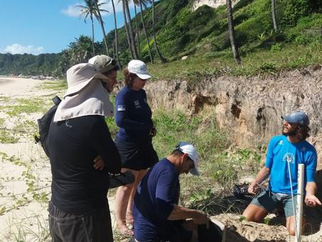 Equipe do Jaboatão recebe capacitação no Projeto Tamar