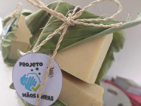 Através do Projeto Mãos Limpas, Cipoma produz e doa sabão