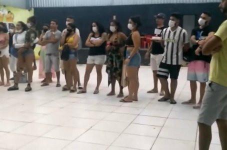 Festa clandestina com mais de 40 pessoas é encerrada em Jaboatão