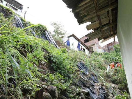 Mais de 40 mil pessoas vivem em moradias de risco em Jaboatão