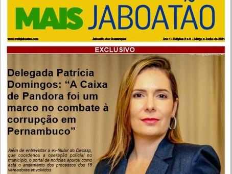 Já está disponível as 2ª e 3ª edições do Jornal Mais Jaboatão