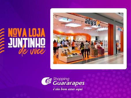Loja Aby's calçados no Shopping Guararapes