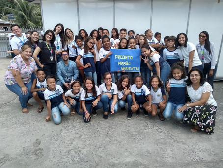 BRK Ambiental e Compesa premiam escola de Jaboatão