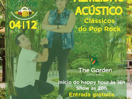 Happy hour e música no The Garden