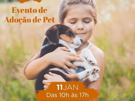 Piedade recebe evento de doação de animais