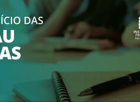 Campus Jaboatão inicia aulas do semestre 2021.1 nesta segunda (26)