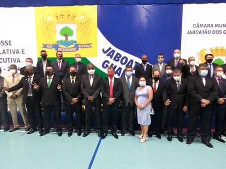 Prefeito e vereadores de Jaboatão tomaram posso durante cerimônia
