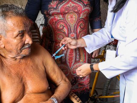 Jaboatão inicia vacinação contra Covid-19 em idosos de 80 a 84 anos nesta quarta