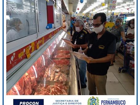 Procon-PE realiza pesquisa inédita de carnes, queijos e presuntos