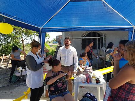 Ação social celebra o Dia Nacional da Saúde em Marcos Freire
