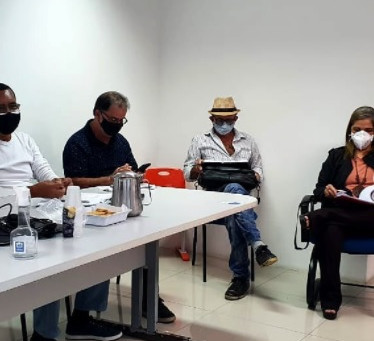 Sinproja participa de segunda rodada de negociação com o Governo Municipal