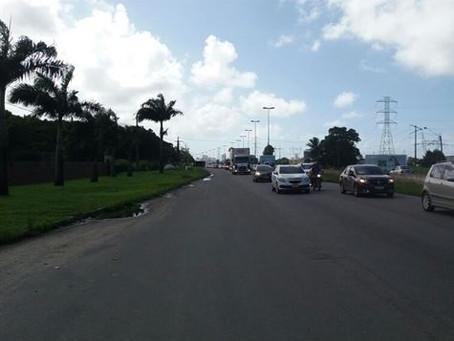 DER realiza intervenções para restauração da passarela do Curado, na BR-232