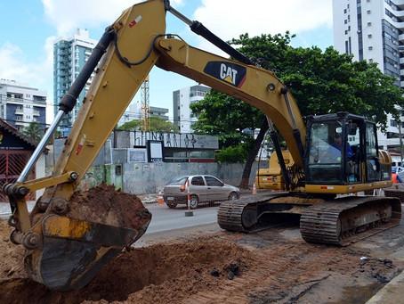 Obra altera trânsito em Candeias, nesta segunda (27)