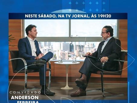 Anderson Ferreira, será entrevistado sobre Inovação e Gestão Pública