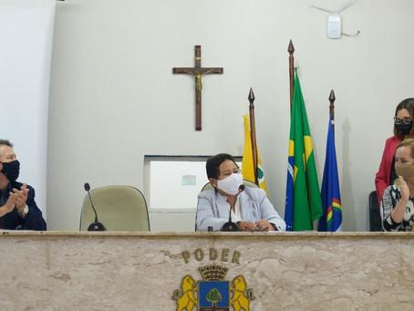 Sessão é presidida por uma mulher na Câmara de Jaboatão pela primeira vez