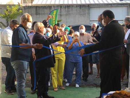 Vereador Manoel de Moura inaugura cento social em Prazeres