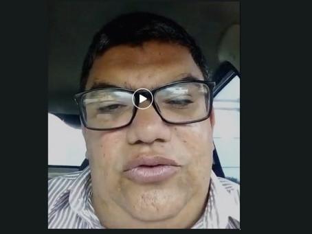 Presidente da União dos Taxistas de Jaboatão  solicita ajuda ao prefeito