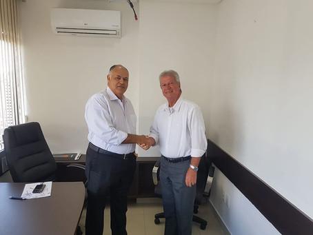 Cláudio Gadelha recebe apoio do Patriota para Prefeitura de Itamaracá
