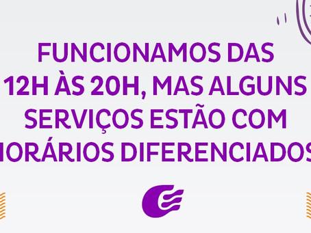 Alguns serviços no Guararapes com horário diferenciado