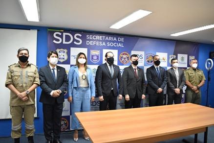 Rinaldo de Souza toma posse como secretário Executivo de Defesa Social de PE