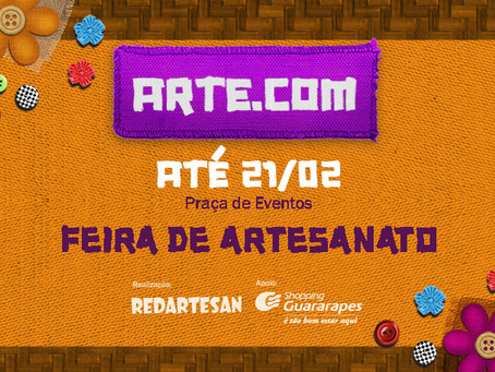 Feira Arte.com n Shopping Guararapes