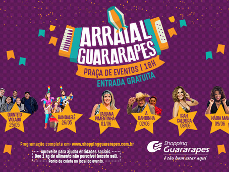 Shopping Guararapes entra no clima junino e oferece shows gratuitos