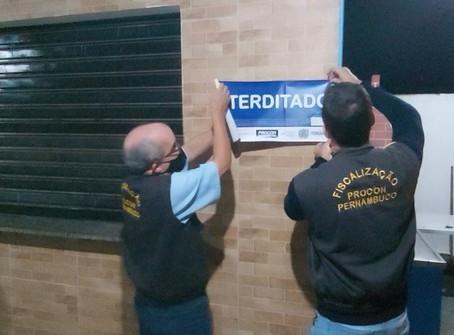 Campo de futebol society em Jaboatão é interditado pela segunda vez em menos de um mês