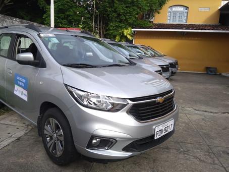 Funase recebe 13 novos veículos para reforçar atendimento a socioeducandos