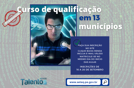 Secretaria do Trabalho prorroga inscrições do Novos Talentos em 13 cidades