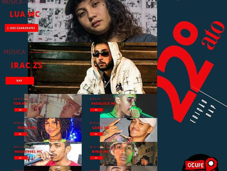 Rap e batalhas de rima no Ocupe a Peixaria