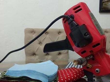 Família de Jaboatão Centro troca máscara por alimentos para doação