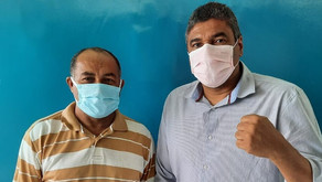 Satenpe recebe visita do Técnico de Enfermagem e ex-vereador de Jaboatão