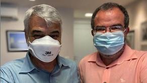 Diretor do Hospital Jaboatão Prazeres se reúne com o senador Humberto Costa