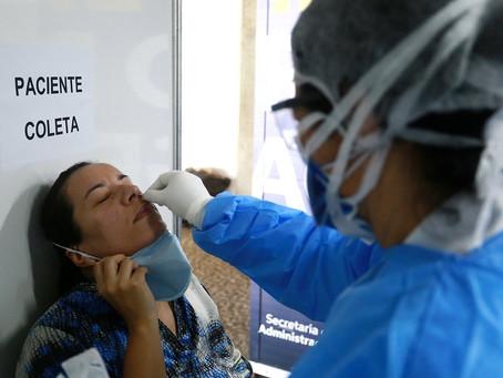 Sindicato cobra do Estado centros de testagem para profissionais da saúde no interior