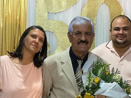 Pastor Valter Amorim comemorou 50 anos de ministério