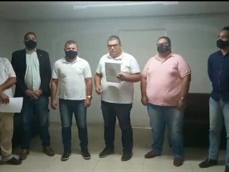 Representantes dos taxistas de Jaboatão participam de reunião com o vereador Lica do Micro-ônibus