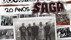 Banda Saga HC celebra 20 anos com documentário