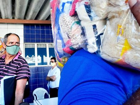 SindtaxiPE promove a entrega de 7 mil cestas básicas aos trabalhadores do Recife