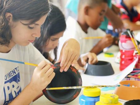 Movimento Pró-Criança abre inscrições para cursos de artes visuais, balé e judô, em Jaboatão