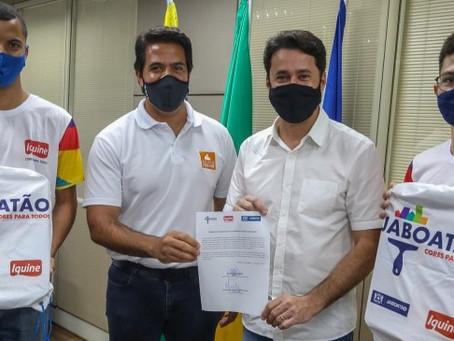 Jaboatão e Iquine firmam parceria ara capacitação profissional da população