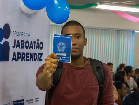 Em Jaboatão, publicada  a Lei que institui o Programa Jaboatão Aprendiz
