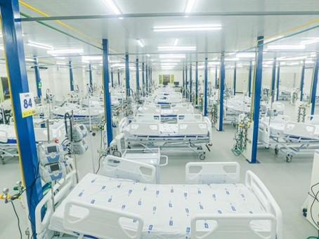 Governo do Estado reativa hospital de campanha