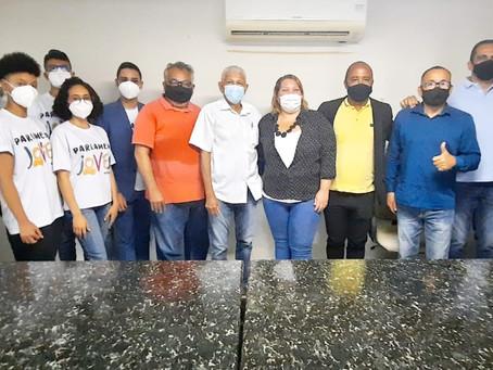 Vereadores de Jaboatão recebem o Parlamento Jovem de Bezerros
