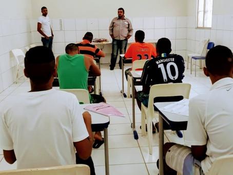 Funase inscreve mais de 900 socioeducandos no Exame Supletivo 2019