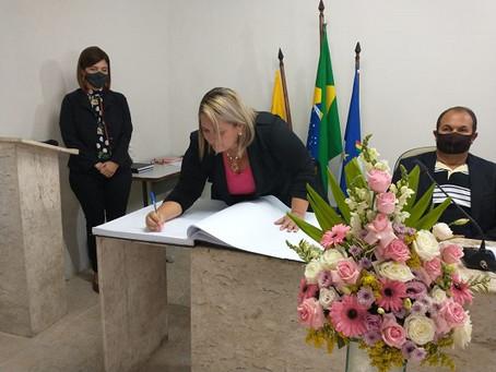 Jeane Cândido tomou posse na Câmara de Jaboatão