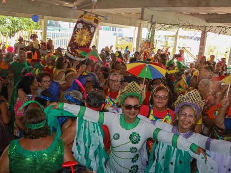 Frevo no pé e muita animação marcaram o 11º Baile de Carnaval da Pessoa Idosa do Jaboatão