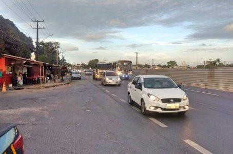 Ciclista fica ferido após colisão envolvendo ônibus em Jaboatão